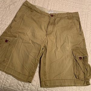 Men's Aeropostale Long Cargo Shorts (0A987-09)